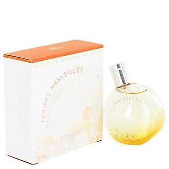Eau Des Merveilles de Hermes Eau De Toilette Spray 1 Oz (femmes) V728-429238