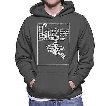Krazy Kat klassisk tegneserie logo menns genser