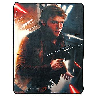 Super Soft Throws - Han Solo - Dodge neue 45 x 60