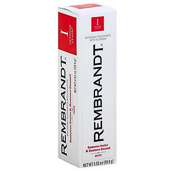 Rembrandt intense stain toothpaste, whitening, mint, 3.52 oz