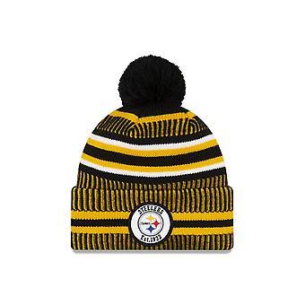 New Era On Field Sport Knit Hm Beanie ~ Pittsburgh Steelers