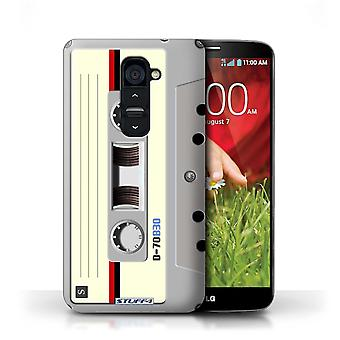 STUFF4 Case/Cover for LG G2/Compact Cassette Tape/Retro Tech