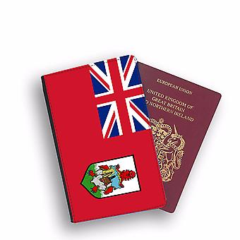 BERMUDAN Flag Passport Holder Style Case Cover Protective Wallet Flags design