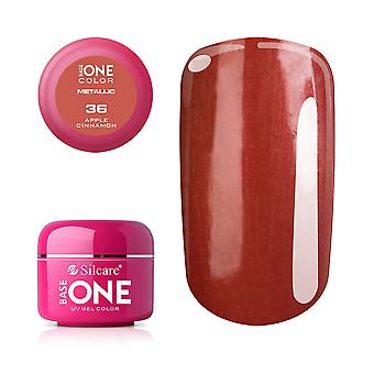 Base one Metallic-Apple cinnamon 5 g UV-gel