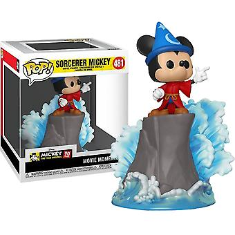 Fantasia Sorcerer Mickey Movie Moments US Pop! vinyle