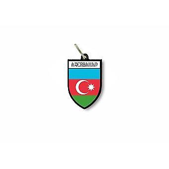 Porte cles clefs cle drapeau collection ville blason azerbaidjan azeri