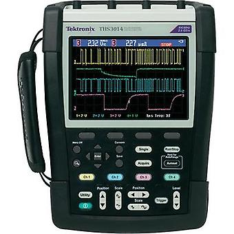 Handheld (scope-meter) Tektronix 200 MHz 4-channel 1.25 null 2.5 null 8 Bit Calibrated to DAkkS standards Digital stora