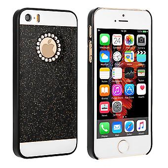 Yousave Accessories iPhone SE Flash Diamond Case Black