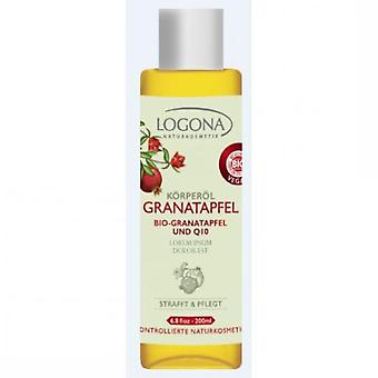 Logona Granada + Q10 Body Oil (Vrouwen , Cosmetica , Body , Moisturizer and nourishing)