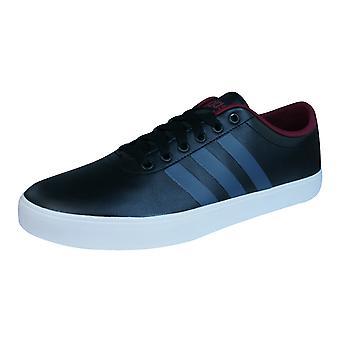 adidas Neo Easy Vulc VS Mens Trainers / Shoes - Black