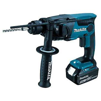 Makita Light to Battery 18v hammer, SDS-Plus  16mm  2Bat  5Ah  DHR165RTJ