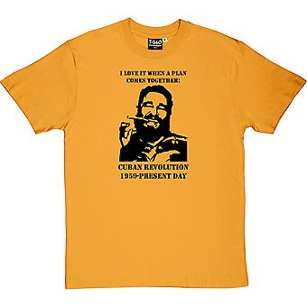 Fidel Castro A-Team mænd T-Shirt