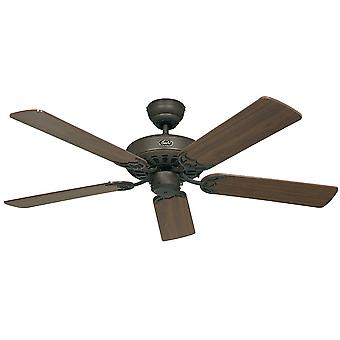 Ceiling fan Classic ROYAL Brown antique with pull cord 75 cm to 180 cm / 30