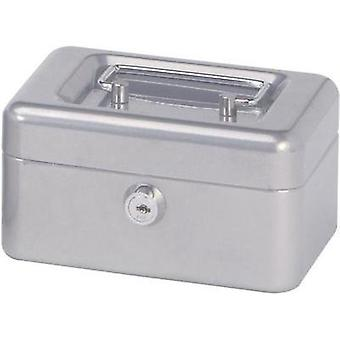 Cash box Maul 18280 (W x H x D) 152 x 81 x 125 mm Silver