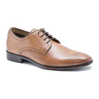 Bürokratie Silwood Tan Leder formale Mens Derby-Schuhe