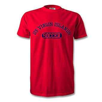US Jungferninseln Soccer Kids T-Shirt
