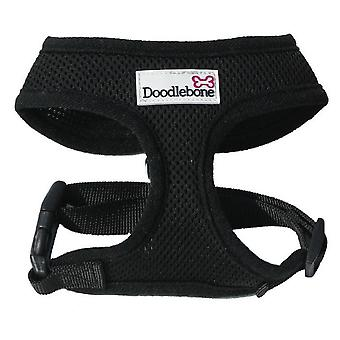 Doodlebone Harness Black Small 32-42cm