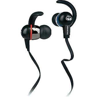 Monster 128700 sport headphone mh ISRT ie bk ct