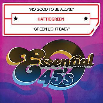 Hattie Green - nie dobre, aby być sam / zielone światło dla dzieci USA import