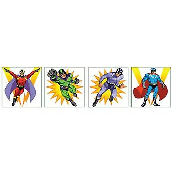 Superhero Temporary Tattoos - Single