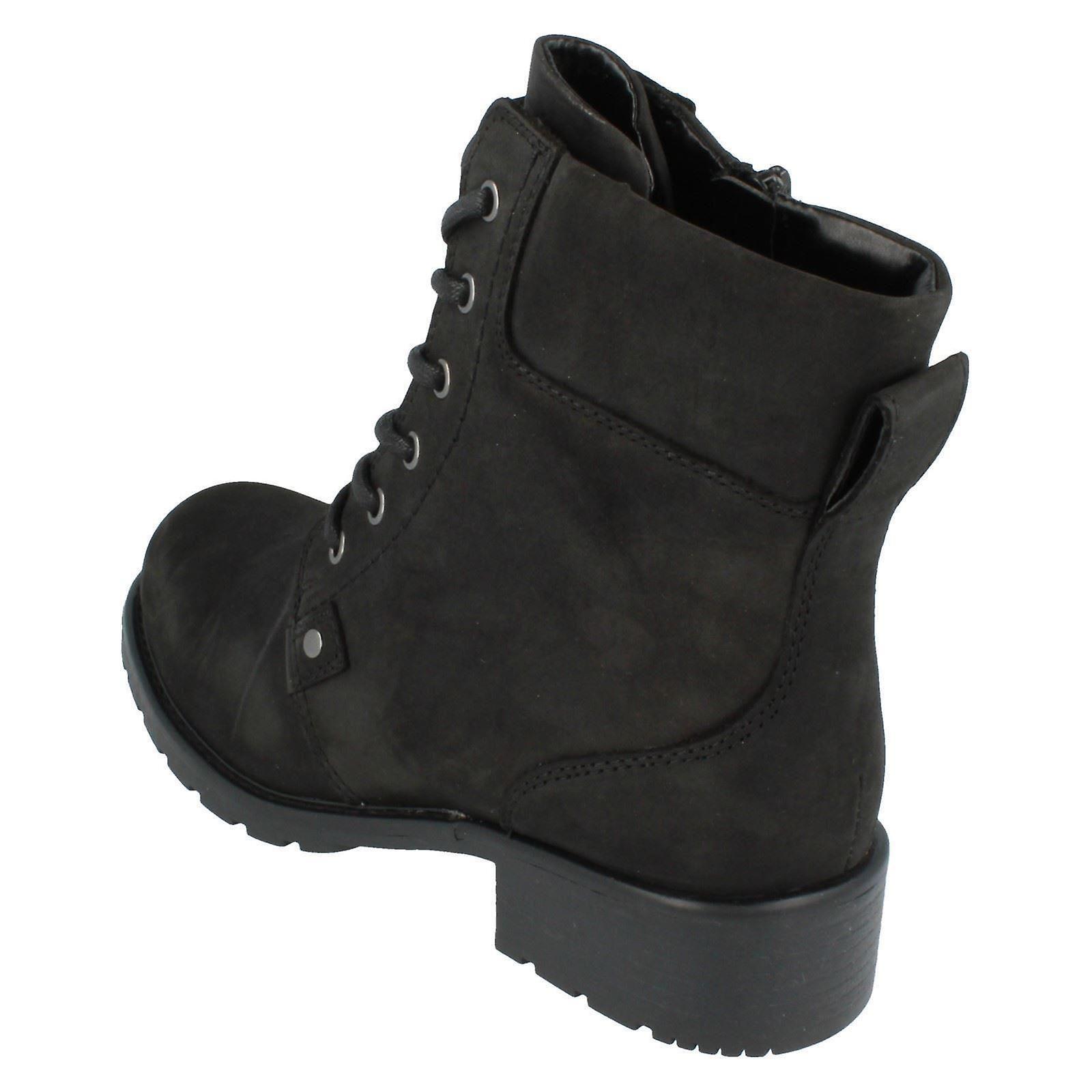 00e996d0 Ladies Clarks Ankle Boots Orinoco Spice