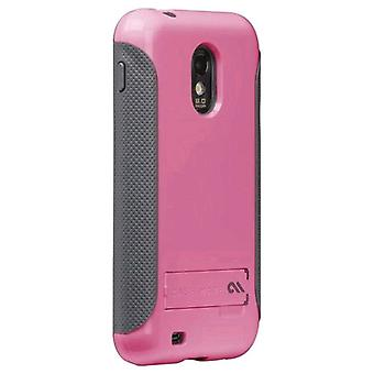 Case-Mate Pop! Case with Stand for Samsung SPH-D710 - Pink/Gray