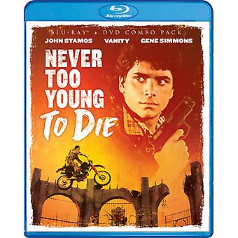 Never Too Young to Die [Blu-ray] USA import