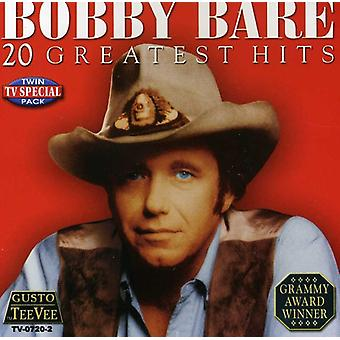Bobby Bare - 20 Greatest Hits CD] USA importerer