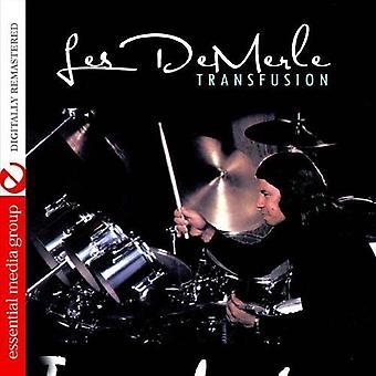Les Demerle - Transfusion [CD] USA import
