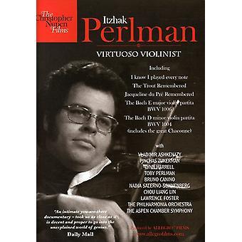 Itzhak Perlman - virtuos Violinist [DVD] USA import