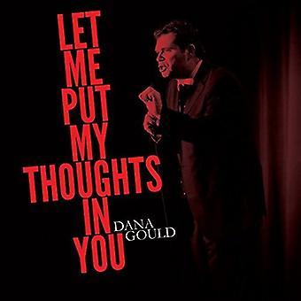 Dana Gould - Lad mig sætte mine tanker i du [Vinyl] USA Importer