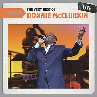Donnie McClurkin - Setlist: The Very Best of Donnie McClurkin Live [CD] USA import