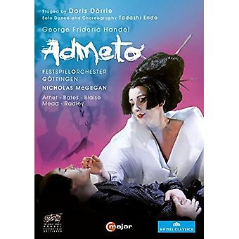 Handel: Admeto [DVD] USA import