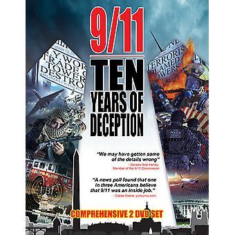 9/11: 10 år af bedrag - terrorisme & løgne [DVD] USA import