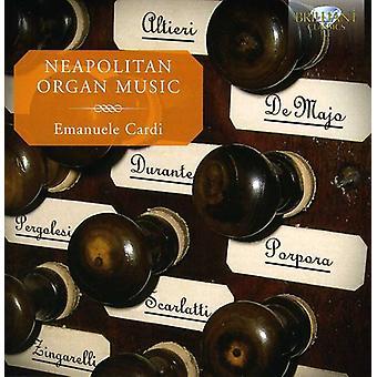 Altieri/De Majo/Durante/Pergolesi/Scarlatti/Porpor - Neapolitan Organ Music [CD] USA import