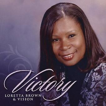 Loretta Brown & Vision - sejr [CD] USA import