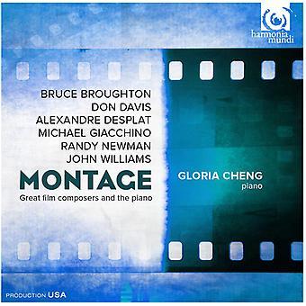 Broughton / Giacchino / Davis / Desplat / importación de Williams - montaje-grandes compositores y los E.e.u.u. Piano [CD]