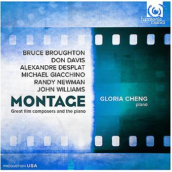 Broughton / Giacchino / Davis / Desplat / Williams - Montage-Great Film Composers & the Piano [CD] USA import