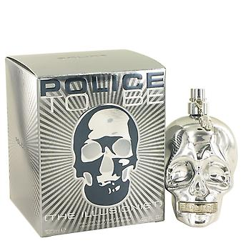 Police Colognes Men Police To Be The Illusionist Eau De Toilette Spray By Police Colognes