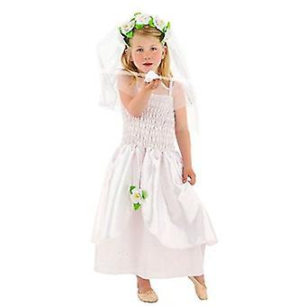 Bridal gown wedding dress child costume flower girl Kids costume