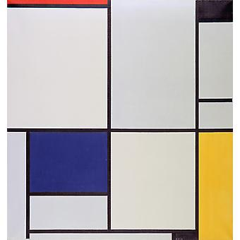 Piet Mondrian - Tableau I Poster Print Giclee