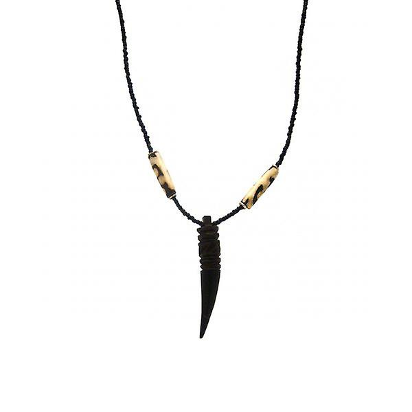W.A.T Carved Tooth Necklace
