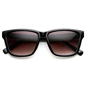 Retro Fashion Modified Squared Frame Horn Rimmed Sunglasses