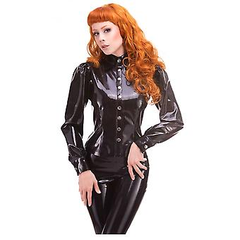 Westward Bound Red Label - Mistress Latex Rubber Shirt