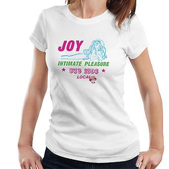 Alegría t-shirt de íntimo placer chica llamada las mujeres
