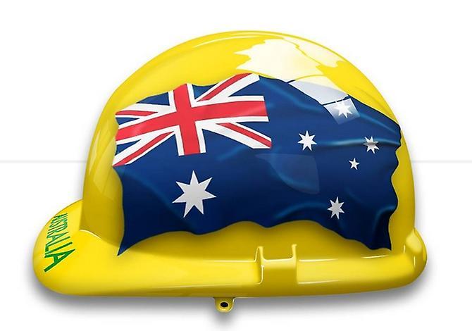 Australia Themed Hard Hat