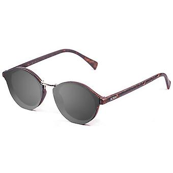 Ocean Loiret Flat Lense Sunglasses - Smoke/Brown