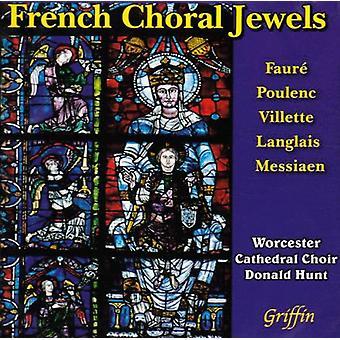 Worcester domkirke koret - fransk kor juveler [CD] USA importerer