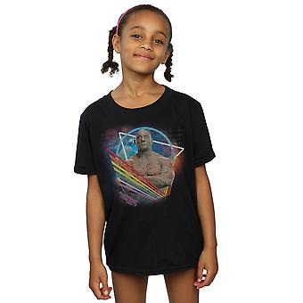 Marvel Girls Guardians of the Galaxy Neon Drax T-Shirt