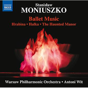 Moniuszko / Warsaw Philharmonic Orch / Wit - Ballet Music [CD] USA import